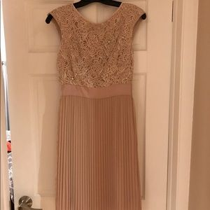 Ted Baker Lace Pleated Dress